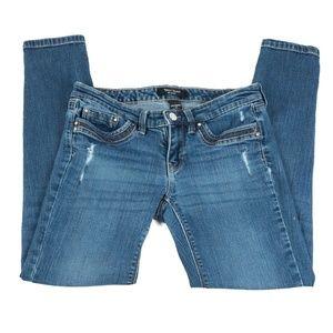 ✨3/$25✨WHBM Girlfriend Low Rise Slim Jean - 2P